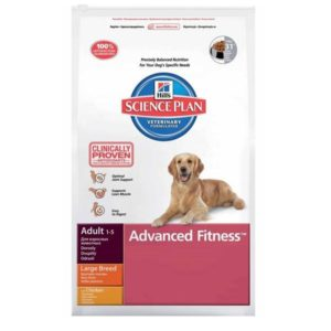 Hills Science Plan Canine Adult Advanced Fitness Large Breed Chicken суха храна за кучета