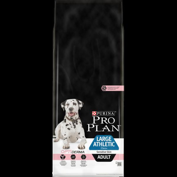 07613035417045_C1N2_Pro Plan Dog Large Adult Athletic Sensitive Skin Salmon 14kg_43700198